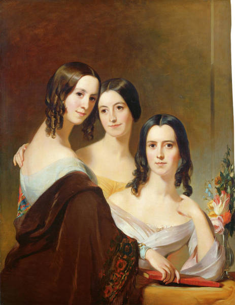 Painting - The Coleman Sisters by Thomas Sully