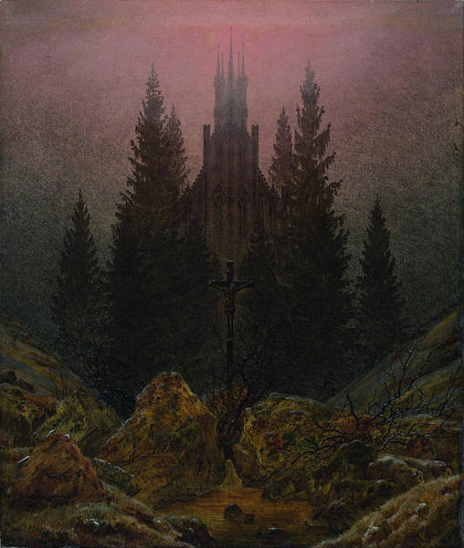 Painting - The Cross In The Mountains by Caspar David Friedrich