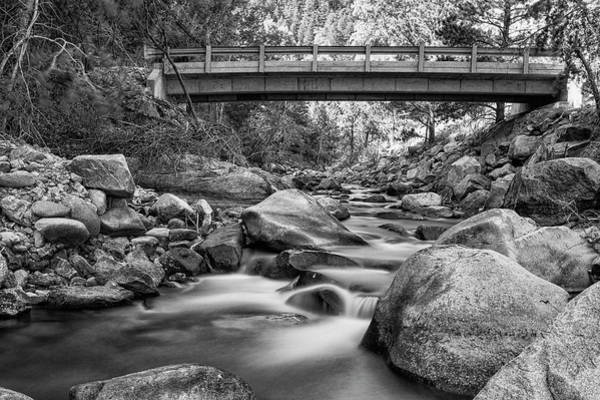 Photograph - The Crossing In Black And White by James BO Insogna