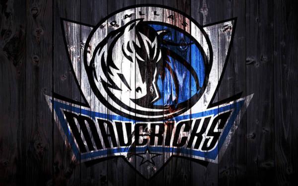 Mavericks Mixed Media - The Dallas Mavericks 2a by Brian Reaves