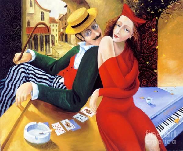 Painting - The Date by Igor Postash