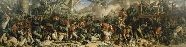 Painting - The Death Of Nelson by Daniel Maclise