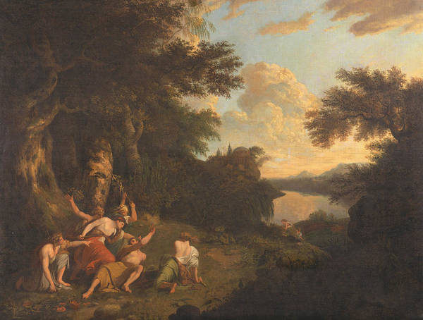 Painting - The Death Of Orpheus by Thomas Jones