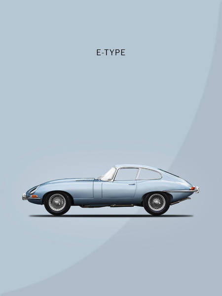 Coupe Photograph - The E Type by Mark Rogan