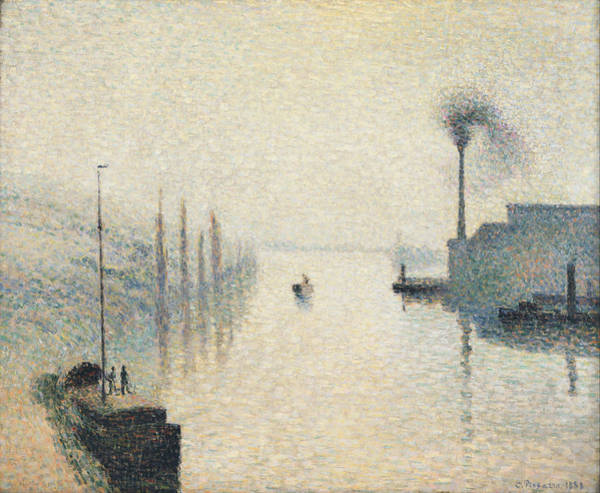 Painting - The Effect Of Fog by Celestial Images