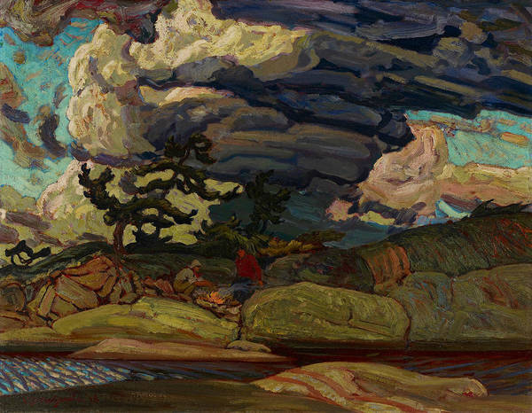 Painting - The Elements by James Edward Hervey MacDonald