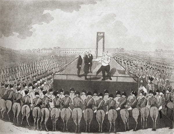 Wall Art - Drawing - The Execution Of Louis Xvi, 21 January by Vintage Design Pics