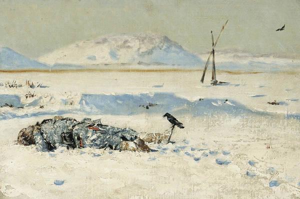 Painting - The Fallen Soldier by Vasily Vereshchagin