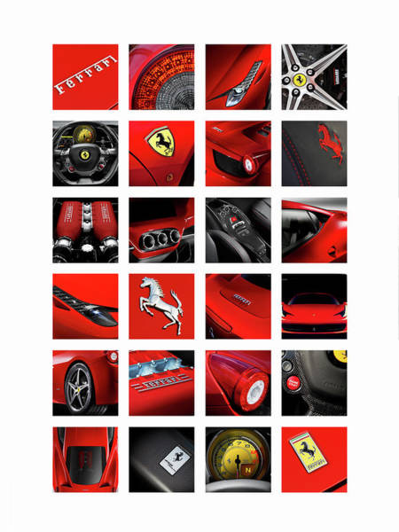 Wall Art - Photograph - The Ferrari 458 Italia by Mark Rogan