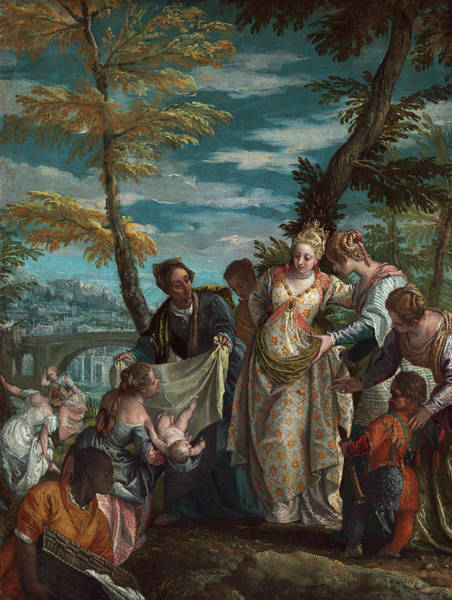 Painting - The Finding Of Moses by Veronese