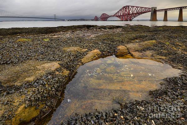 Edinburgh Photograph - The Forth Bridges by Smart Aviation