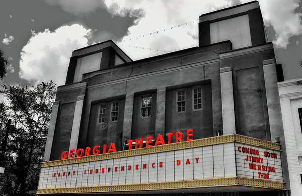 Wall Art - Photograph - The Georgia Theatre by Paul Brennan