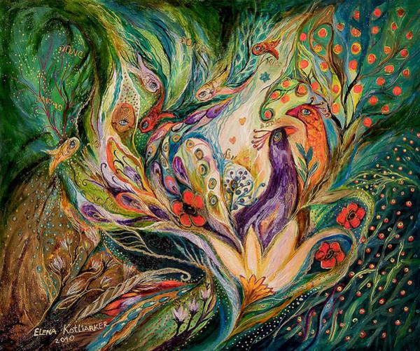 Wall Art - Painting - The Glade by Elena Kotliarker