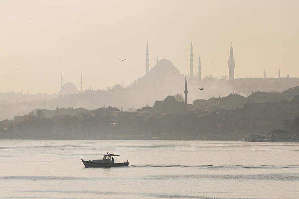 Wall Art - Photograph - The Golden Horn Istanbul by Ayhan Altun