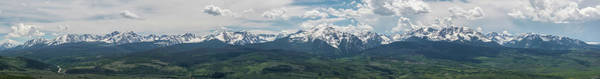 Wall Art - Photograph - The Gore Range by Aaron Spong
