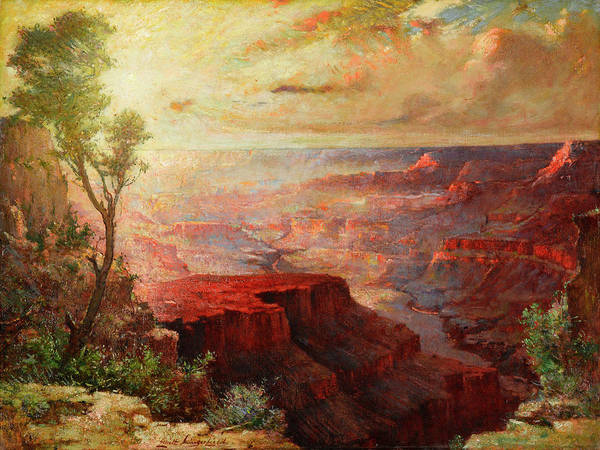 Wall Art - Painting - The Grand Canyon by Elliott Daingerfield