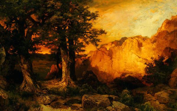 Moran Painting - The Grand Canyon by Thomas Moran