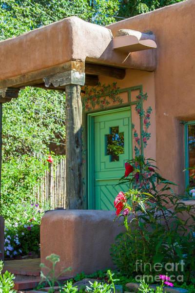 Photograph - The Green Door by Jim McCain