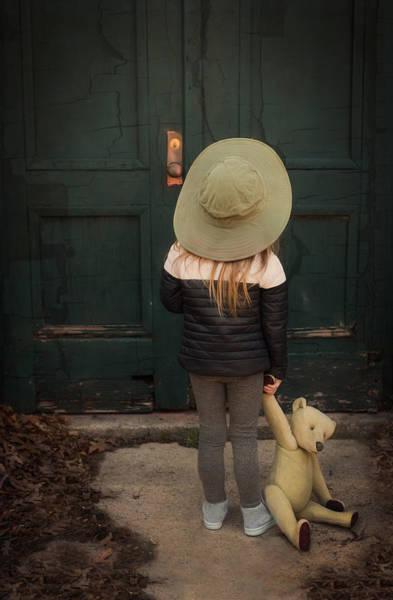 Photograph - The Green Door by Robin-Lee Vieira