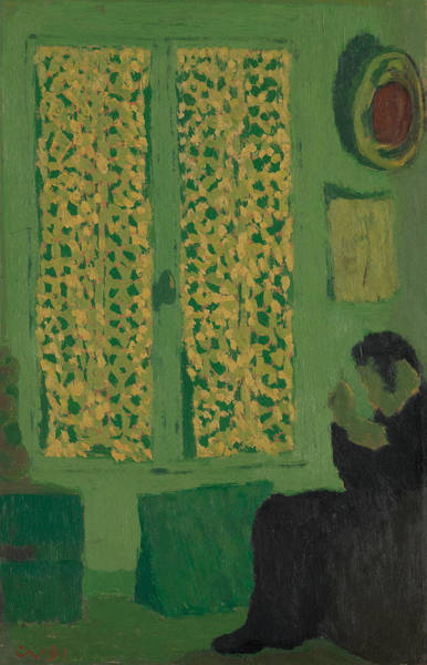 Painting - The Green Interior  by Edouard Vuillard