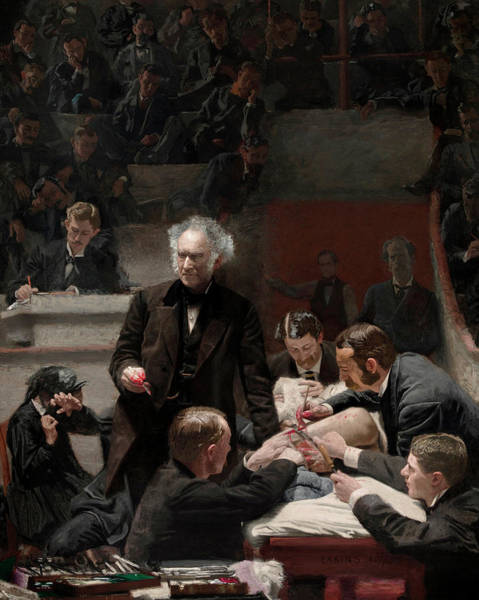 Clinic Wall Art - Painting - The Gross Clinic by Thomas Eakins