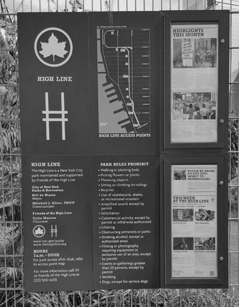 Deck Digital Art - The High Line 207 by Rob Hans