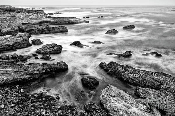 Wall Art - Photograph - The Jagged Rocks And Cliffs Of Montana De Oro State Park by Jamie Pham