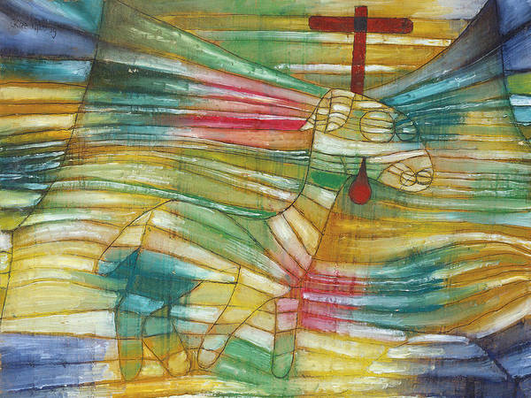 Painting - The Lamb by Paul Klee