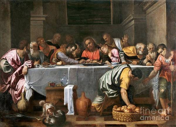 Wall Art - Painting - The Last Supper by Pg Reproductions