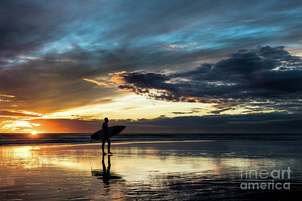 Photograph - The Last Surfer by David Levin