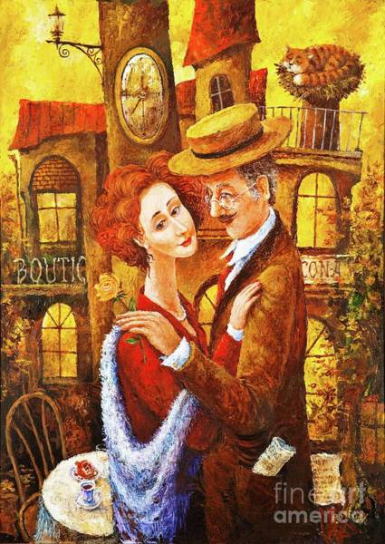 Painting - The Late Date by Igor Postash