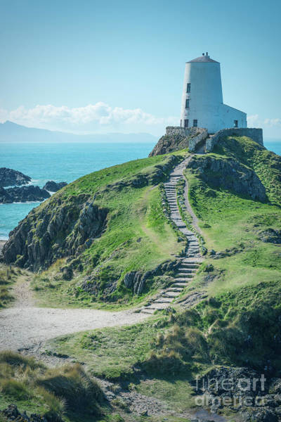 Wall Art - Photograph - The Lighthouse Of Twr Mawr Llanddwyn Island by Amanda Elwell