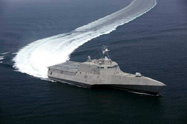 Trial Wall Art - Photograph - The Littoral Combat Ship Independence by Stocktrek Images