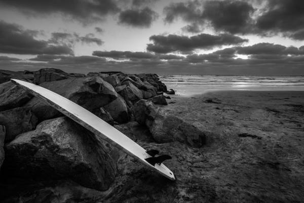 Big Sky Photograph - The Long Board by Peter Tellone