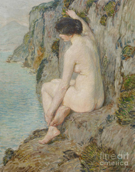 Bare Bottom Painting - The Lorelei by Childe Hassam