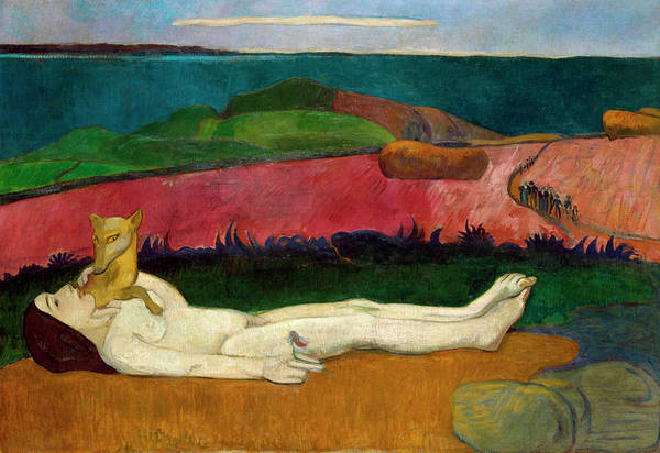 Wall Art - Painting - The Loss Of Virginity by Paul Gauguin
