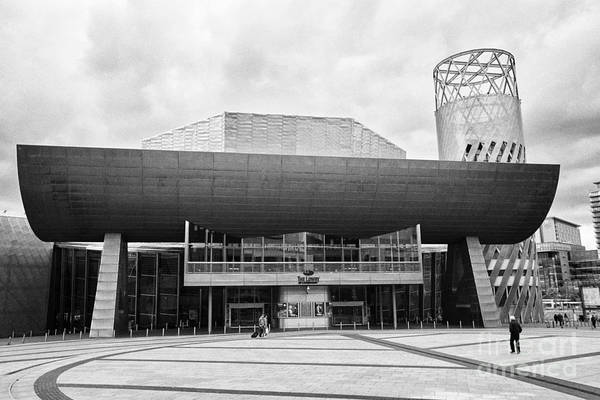 Lowry Photograph - the lowry art and entertainment complex Manchester uk by Joe Fox