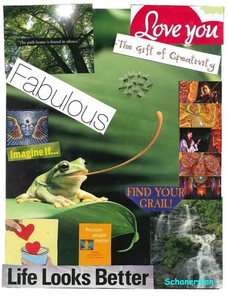 Mixed Media - The Magic Of Life by Susan Schanerman