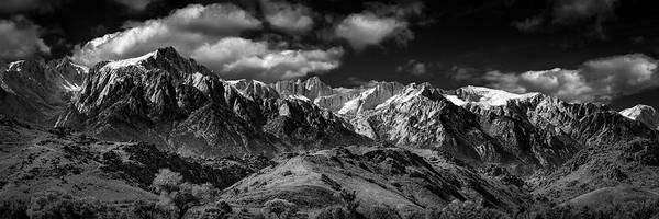 Photograph - The Majestic Sierras by Bruce Bonnett