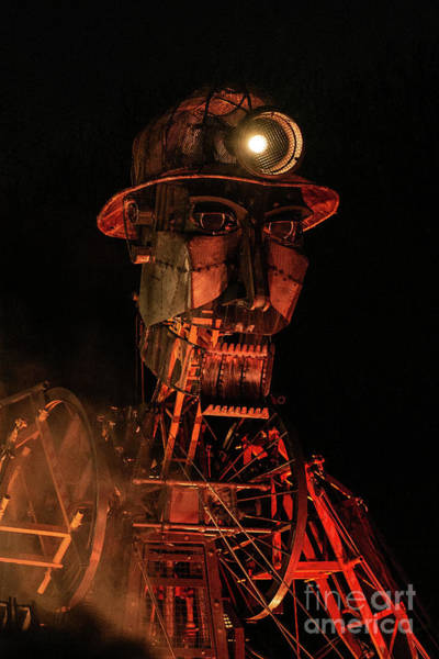 Wall Art - Photograph - The Man Engine Puppet by Amanda Elwell