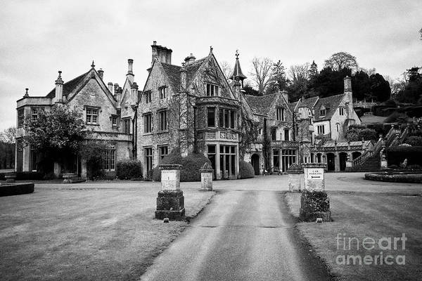 Wall Art - Photograph - The Manor House Hotel 14th Century Country House Hotel Castle Combe Village Wiltshire England Uk by Joe Fox