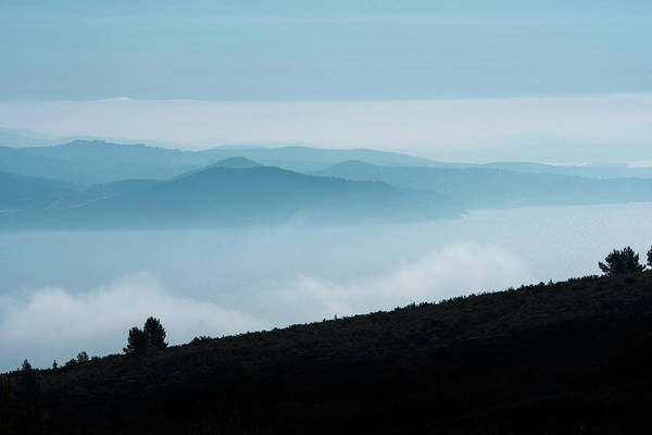 Photograph - The Massif De Sainte Baume, Provence, France by Jean Gill