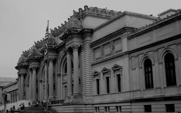 Met Photograph - The Metropolitan Museum Of Art by Christopher Kirby