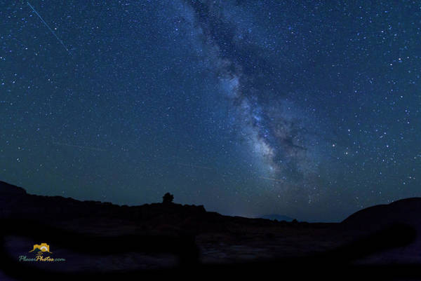 Photograph - The Milky Way At Goblin Valley by Jim Thompson