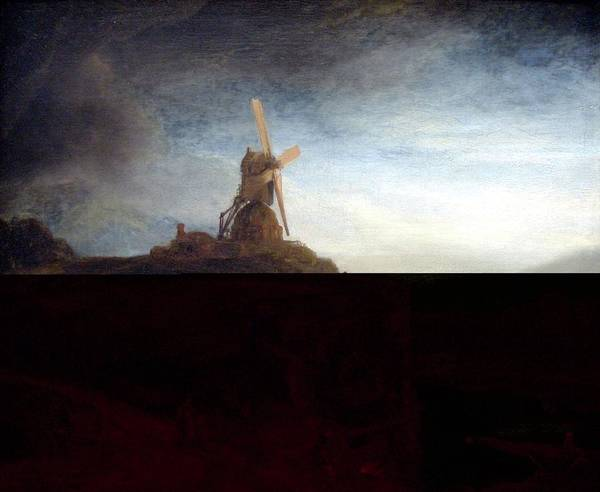 Wall Art - Painting - The Mill by Rembrandt Van Rijn