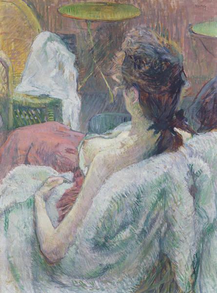 Painting - The Model Resting by Henri de Toulouse-Lautrec