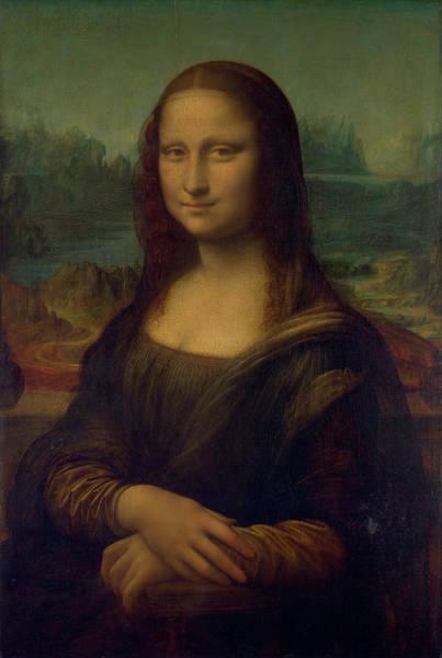 Mona Lisa Wall Art - Painting - The Mona Lisa by Leonardo da Vinci