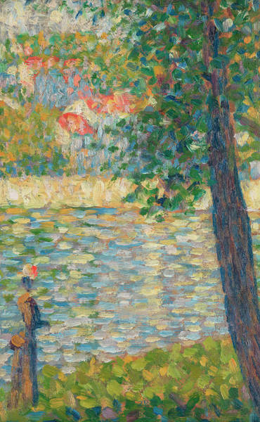 Waterway Painting - The Morning Walk by Georges Seurat