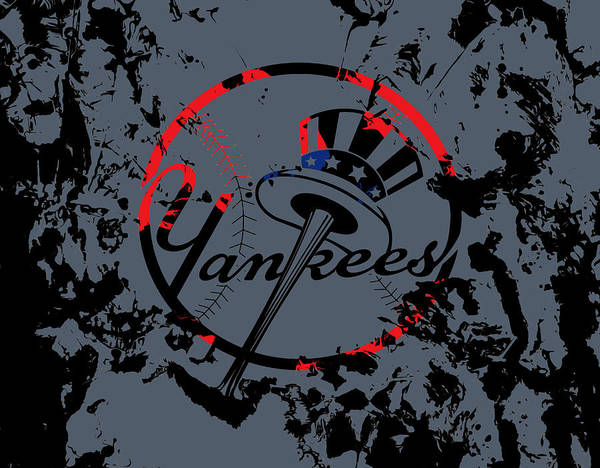 Babe Mixed Media - The New York Yankees by Brian Reaves