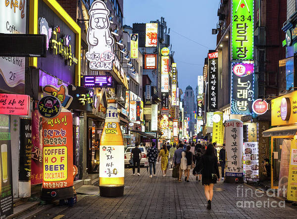 Photograph - The Nights Of Seoul by Didier Marti